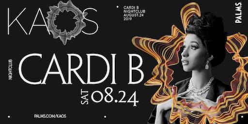 8.24 Cardi B @ KAOS Nightclub Las Vegas