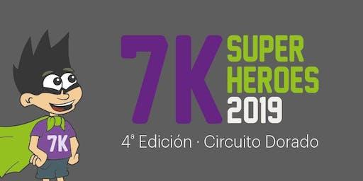 7K SUPERHEROES - Circuito Dorado - 4ª Edición