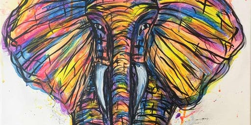 Eclectic Elephant Saturday Afternoon Paint Party