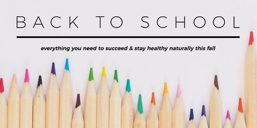 Back to School - Keeping our Kiddos Healthy