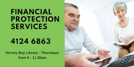 Financial Protection Services - Hervey Bay Library tickets