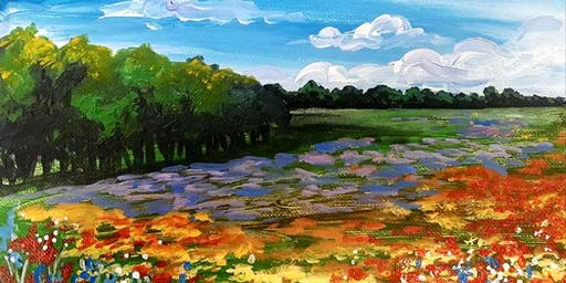 Field of Flowers Saturday Afternoon Paint Party