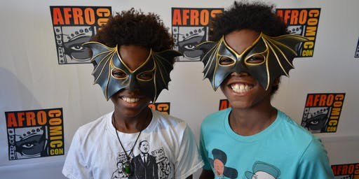 AfroComicCon Free Youth Community Day 2019