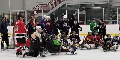 Try Blind and Sled Hockey Event