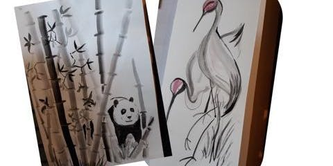 Brush Painting Class with Chinese Influence