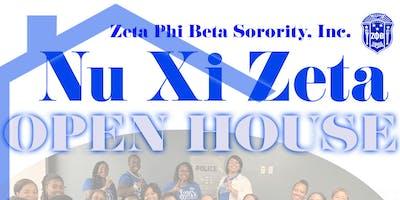 Nu Xi Zeta Open House