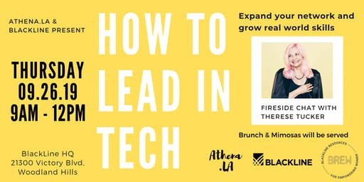 Athena.LA x  BlackLine Resources for Empowering Women: How to Lead in Tech - A Morning of Inspiration & Professional Development