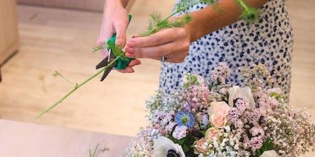 Flower Arranging Workshop with Matilda's Bloombox tickets