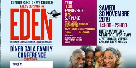 EDEN Family Conference Gala Dinner. tickets