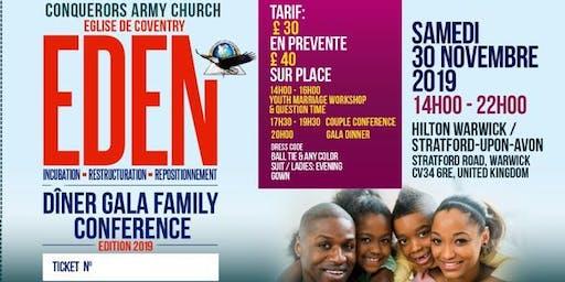 EDEN Family Conference Gala Dinner.