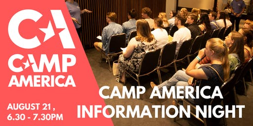 Sydney Camp America Info Night