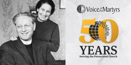 Voice of the Martyrs 50th Anniversary celebration