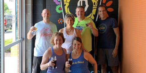 Yoga & Beer at Dynasty Brewing
