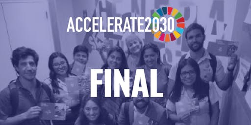 Final del programa internacional Accelerate 2030