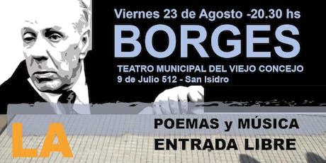 Borges- La otra Vereda tickets