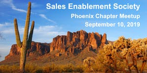 Sales Enablement Society Phoenix Chapter Q3 Meetup