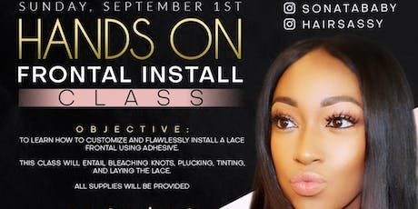 Lace Frontal Class tickets