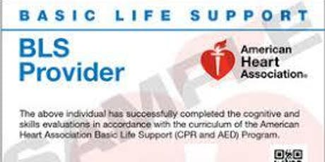 Basic Life Support CPR for Healthcare Providers  tickets
