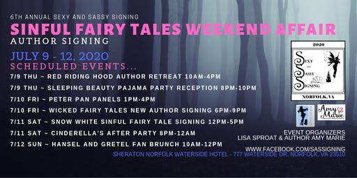 #SaSS20 Sinful Fairy Tales Weekend Affair