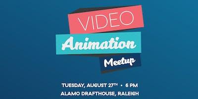 AIGA Raleigh Video & Animation Meetup at Alamo Drafthouse Raleigh