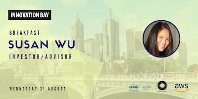 Innovation Bay Melbourne Breakfast: Susan Wu