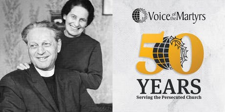 Voice of the Martyrs 50th Anniversary celebration tickets
