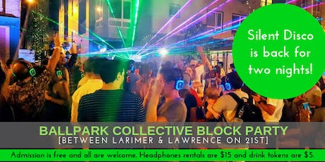 Silent Disco Street Party | Sat Aug 31 tickets