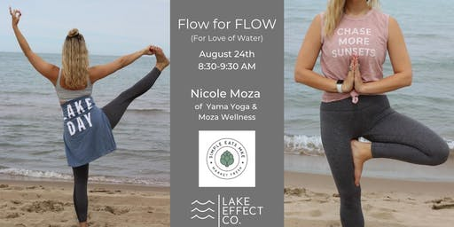 Morning Yoga Flow for FLOW (For Love of Water)