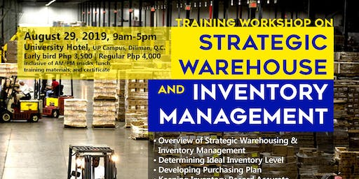 Strategic Warehousing and Inventory Management