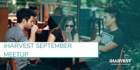 iHarvest Meetup September tickets