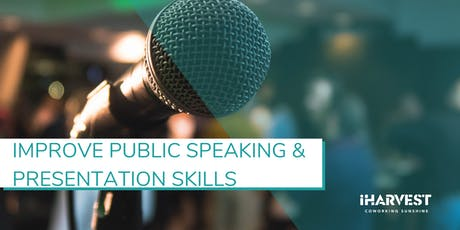 Masterclass#24 - Improve Public Speaking, Communication&Presentation Skills tickets