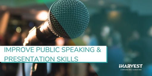 Masterclass#24 - Improve Public Speaking, Communication&Presentation Skills