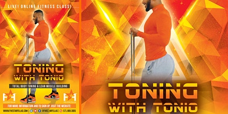 Toning with Tonio tickets