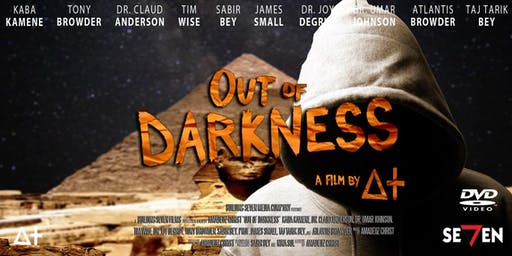 Black History Month Film Screening - 'Out of Darkness' - Thursday 3 October 2019