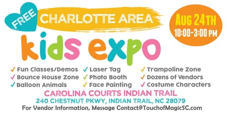 4th Annual Charlotte Area Kids Expo tickets