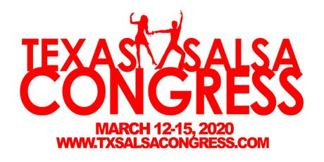 FLASH SALE: Texas Salsa Congress 16th Year Anniversary tickets