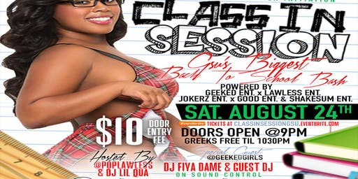 Class In Session | GSU's Biggest Back 2 School Bash
