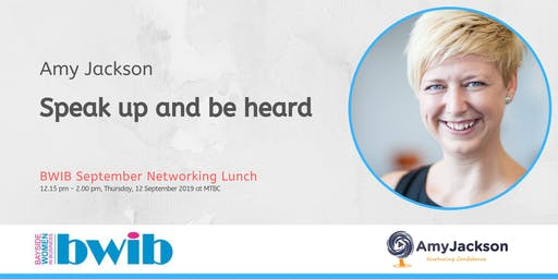 BWIB Networking Lunch - Speak up and be heard
