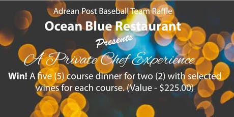 Ocean Blue Private Chef Experience Fundraiser tickets
