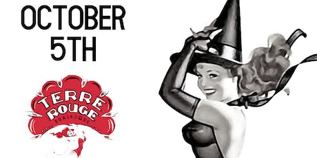 Terre Rouge - Speakeasy Burlesque  - Live Jazz - TWO SHOWS 8:00 & 10:30P - Halloween Edition  tickets
