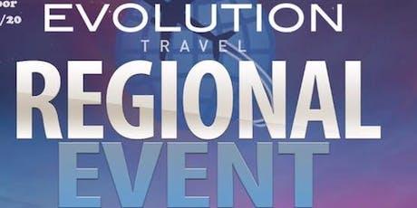 Regional Travel Event tickets