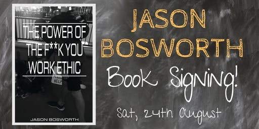 Author Book Signing: Jason Bosworth