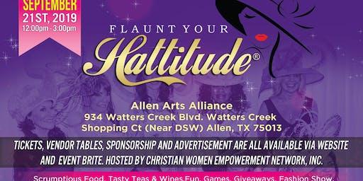 Flaunt Your Hattitude® Brunch Soiree (Allen Arts Alliance)