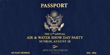 11th Annual Air & Water Show Day Party tickets