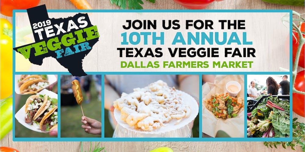 Texas Veggie Fair 2019 Tickets, Sat, Nov 2, 2019 at 11:00 AM