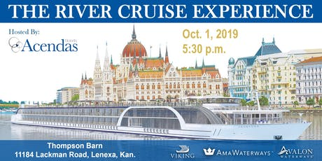 The Acendas Travel River Cruise Experience tickets