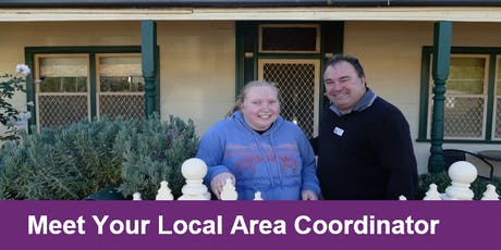 Meet Your Local Area Coordinator Bathurst tickets