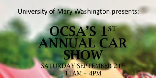 OCSA's 1st Annual Car Show