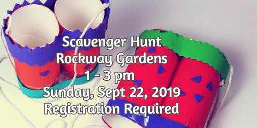 Children's Scavenger Hunt at Rockway Gardens