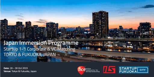Japan Immersion Programme (Tokyo & Fukuoka)